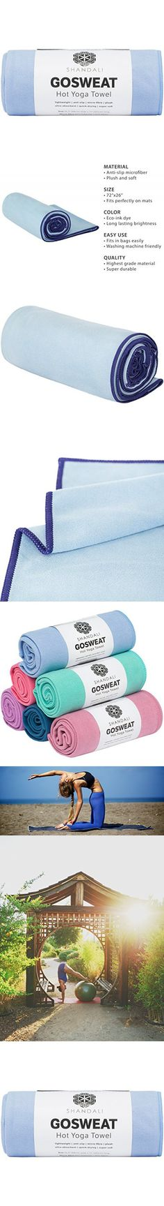 #1 Best Hot Yoga Towel (26.5x72) - SUEDE - 100% Microfiber, Skidless Yoga Towel, Super Absorbent, Anti-slip, Injury Free - Best Bikram Yoga Towel - Exercise, Fitness, Pilates, and Yoga Gear; Lifetime Guarantee