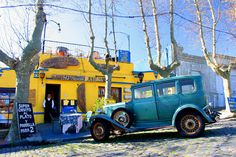 Cafe Colonia, Uruguay - love my mothers home country