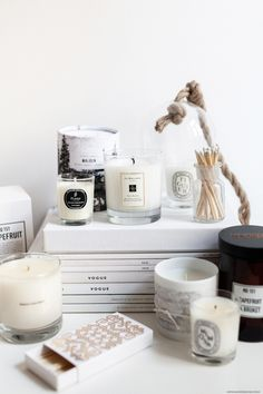 The Best Scented Candles I Now up on viennawedekind.com
