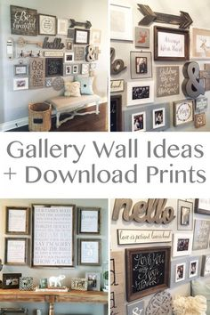 Gallery Wall Idea                                                                                                                                                                                 More