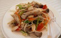 Thailändischer Pilz-Salat - Veganblatt