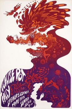 July 1967 at Hyde Park  by Hapshash and the Coloured Coat #posters