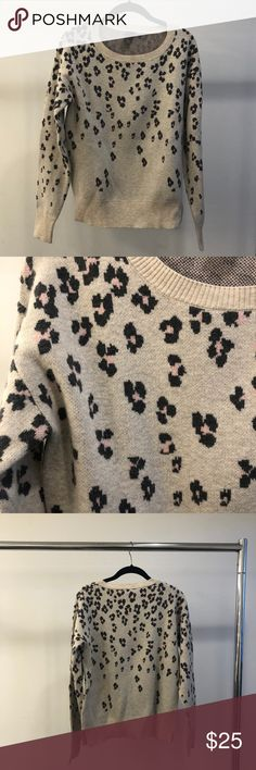 Gap Sweater Leopard print sweater GAP Tops