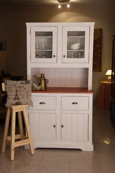 1000 images about alacenas y o vitrinas on pinterest - Muebles estilo country ...