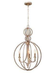 sphere-shaped chandelie