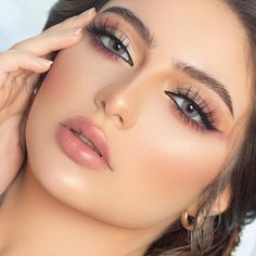 Most Beautiful Faces, Stunning Eyes, Gorgeous Eyes, Wedding Makeup Tips, Bridal Hair And Makeup, Simple Makeup, Natural Makeup, Beauty Makeup, Eye Makeup