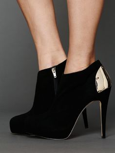 Free People Bansi Stilleto Bootie, To go with my gold and black dress this holiday season?