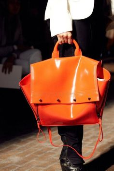 3.1 Phillip Lim, tangerine bag