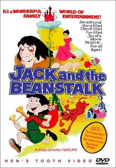 Jack and the Beanstalk Stars: Jack Grimes, Corinne Orr, Billie Lou Watt ~ Director: Gisaburo Sugii Joy Movie, Movie Tv, Jack And The Beanstalk, Hd Movies Online, Hd Streaming, Hd 1080p, Movies And Tv Shows, Childhood Memories, Musicals