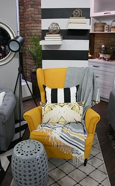 Inspired Style: Yellow Chair