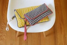 Envelope Clutches | pattern by noodlehead