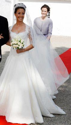Princess Marie of Denmark. #WeddingDress