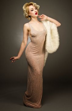 Marilyn Monroe Happy Birthday Dress Costume on Etsy, $247.30