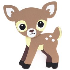 Finished Baby Fawn Deer Wood Cutout - All Wood Cutouts - Wood Crafts - Craft Supplies Woodland Theme, Woodland Baby, Woodland Animals, Felt Animal Patterns, Stuffed Animal Patterns, Felt Animals, Baby Animals, Animal Cutouts, Wood Cutouts