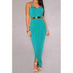 Stylish Women s Halter Side Slit Dress with Belt black blue green plum red olive (Stylish Women s Halter Side Slit Dress with Belt) by http://www.irockbags.com/stylish-womens-halter-side-slit-dress-with-belt-black-blue-green-plum-red-olive