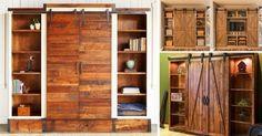 Ahorra espacio en tu hogar construyendo este mueble multifuncional con puertas corredizas.