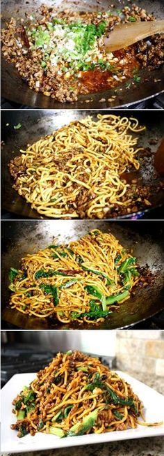 Kaitlin's Special Noodles, so damn good!