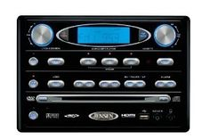 Jensen Heavy Duty Tra4500 Am Fm Fender Mount Stereo