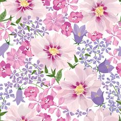 Find Floral Seamless Pattern Flower Background Floral stock images in HD and millions of other royalty-free stock photos, illustrations and vectors in the Shutterstock collection. Thousands of new, high-quality pictures added every day. Vector Background, Textured Background, 4 Wallpaper, Wallpaper Patterns, Vector Flowers, Seamless Textures, Leather Pieces, Liberty Print, Flower Backgrounds