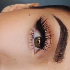Winged liner and lashes kind of day.