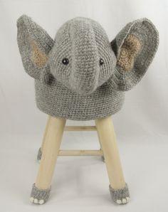 Dieren kruk olifant Haakpret