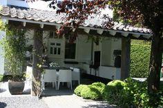 Veranda / buitenkeuken voor mooie lange avonden ( (c) Ron den Dikken)