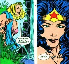 Wonder Woman has some awesome turn-ons. | 23 Times Lady Superheroes Were 1000% Done