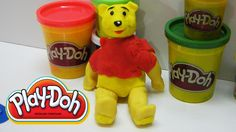 Winnie pooh Play Doh 3D Modeling! Disney Character By Kids Surprise TV