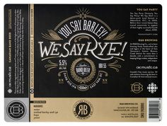 """""""I took the joke too far by designing a set of labels for some of the fictitious brews, published on CBC Music. Before long Old Yale Brewing's Jeremy Sibley was recruiting members of B.C.'s vibrant craft beer community to help make them a reality, """" said Ben Didier."""