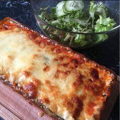 Zucchini-Lasagne #lowcarb #nocarb #zuckerfrei #nosugar #healthy #fancy #food #foddie #foodlover Zucchini Lasagne, Ricotta, Chili, Foodblogger, Lasagna, Pizza, Fancy, Cheese, Ethnic Recipes