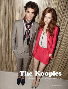 French Invasion Real-life couple Johan and Mikaela in The Kooples' advertising campaign Stylish Couple, Stylish Men, The Kooples, Fashion Couple, Work Fashion, Mens Fashion, Perfect Couple, Beautiful Couple, French Brands
