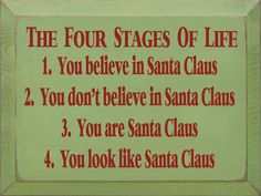 Sawdust City LLC - The Four Stages Of Life - Santa Claus, $22.00 (http://www.sawdustcityllc.com/the-four-stages-of-life-santa-claus/)
