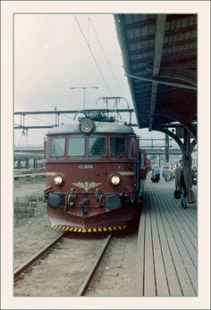 The NSB in Oslo. Electric Locomotive, Hans Christian, Most Visited, Bergen, Oslo, Norway, September, The Unit, Europe
