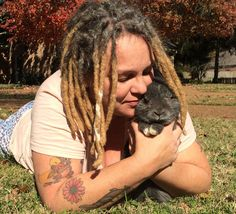 Art and good cheer are part of the formula for success used by Clover Patch Sanctuary as it rescues rabbits, guinea pigs and ducks.