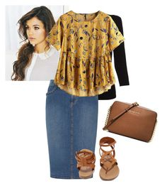 """""""The top"""" by ohraee019 on Polyvore featuring Belford, Dorothy Perkins, Breckelle's and MICHAEL Michael Kors"""