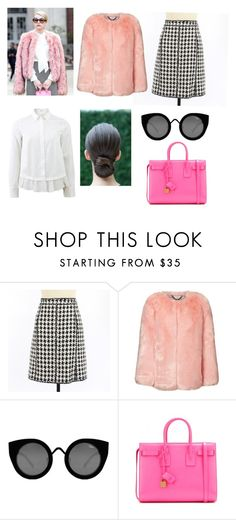 """""""SQ Chanel #OOTD February 12"""" by chooseyourstyle321 on Polyvore featuring Chanel, Quay, Yves Saint Laurent, Brunello Cucinelli, women's clothing, women, female, woman, misses and juniors"""