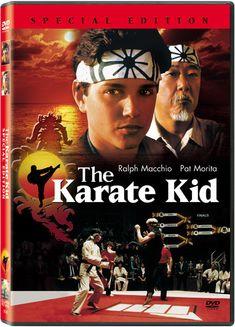 A New Jersey teen moves to California, meets bullies and learns karate from a handyman, Mr. Miyagi. The Karate Kid 1984, Karate Kid Movie, Cobra Kai Shirt, William Zabka, New Hindi Movie, Elisabeth Shue, Kid Cobra, Ralph Macchio, Moving To California