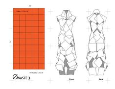Design by Carlos Villamil  Fashion: Global Voices: Zero Waste fashion in the Sustainablility Equation - RockPaperInk.com