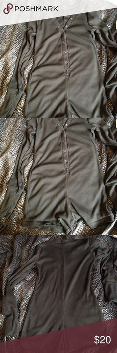Worn once Sexy lounge button up romper Comfy lounging romper. Buttons up. Good condition only worn once. Very cute and sexy. Other