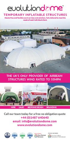 30 Best Inflatable Exhibition Structures images | Temporary