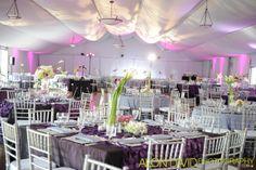 Beautiful reception in our Garden Pavilion #pavilionwedding