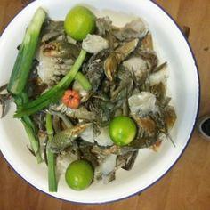 Marinade pour matoutou de crabes