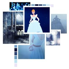"""Cinderella"" by charlizard ❤ liked on Polyvore featuring art and cinderella"