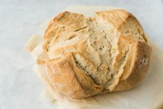 Quick Homemade Artisan Bread is the faster way to make homemade bread! You will love this recipe because it only uses 4 ingredients and cooks in just 30 minutes. Impress at your next dinner when you serve this tasty homemade bread.