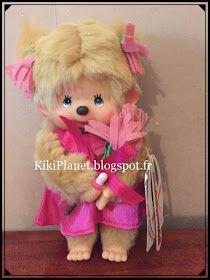 la Monchhichi Flower Garden, collection kiki, jouet vintage, kiki de tous les kiki, kiki le vrai, sekiguchi