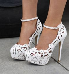 Liliana ABBAS-1 #Sexy Cut-out Platform #Pump