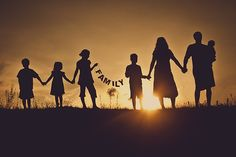 this cover photo is pretty - it would be nice even if it was taken during the day. family picture idea photography