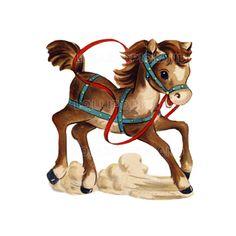 1940s Happy Horse tattoo idea
