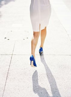 Bride in Blue Heels | photography by http://connielyu.com/