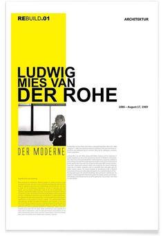 Mies Van Der Rohe - Naxart - Premium Poster